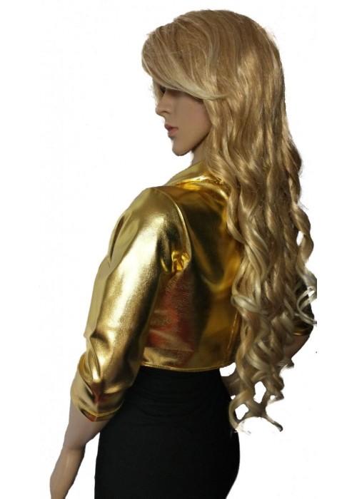 Wetlook Jacken - Kurz Jacke gold -